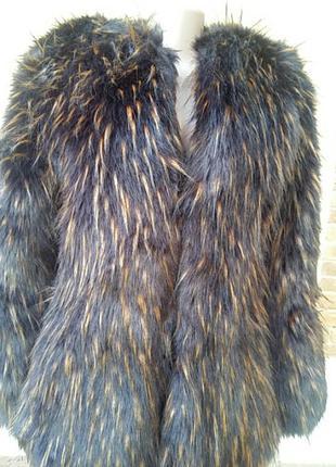 Мега  шикарная куртка, комбинированая с кожей. италия.4 фото