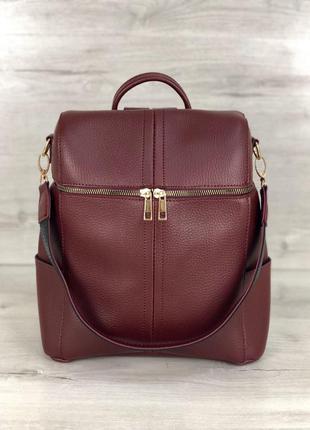 Женский рюкзак сумка рюкзак черный рюкзак классический рюкзак городской рюкзак1 фото