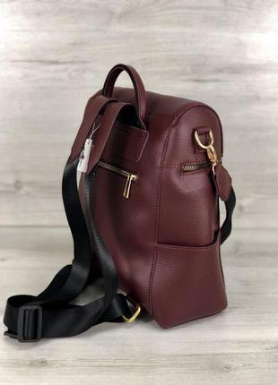 Женский рюкзак сумка рюкзак черный рюкзак классический рюкзак городской рюкзак3 фото