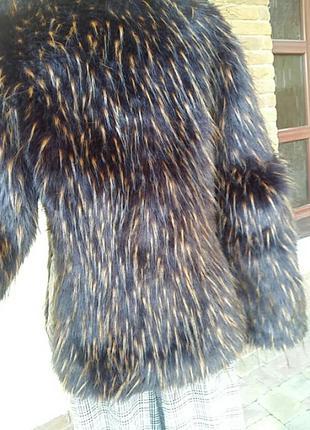 Мега  шикарная куртка, комбинированая с кожей. италия.2 фото