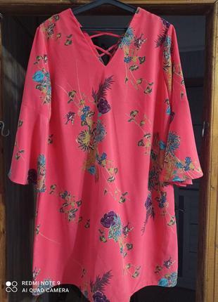 Нарядное платье большого размера1 фото