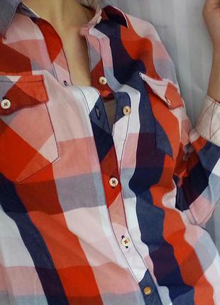 Рубашка в клетку zara