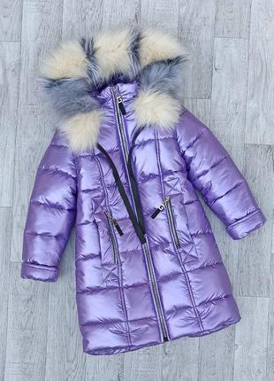 Зимнее пальто-куртка 116-152
