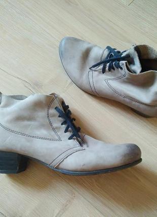 Якісні жіночі черевички tamaris/ кожаные ботиночки