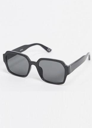 Базові чорні сонцезахисні окуляри від asos