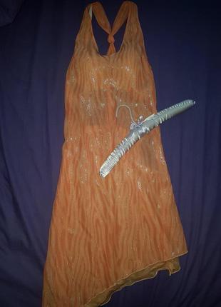 Оригінальна сукня з мокрим ефектом