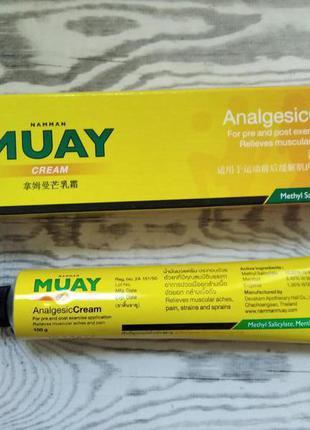 Тайский крем-анальгетик «namman muay analgesic cream»