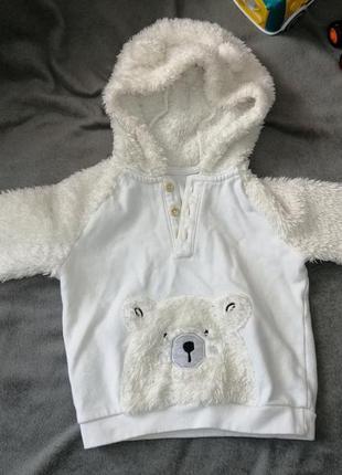 Тёплая кофта для малыша