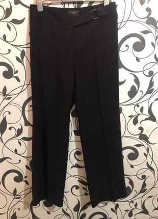 Невероятно роскошные широкие брюки с высокой посадкой, р.16/44...👠🌹❤️
