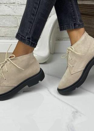 👣🍂туфли ботинки натуральный замш🍂👣