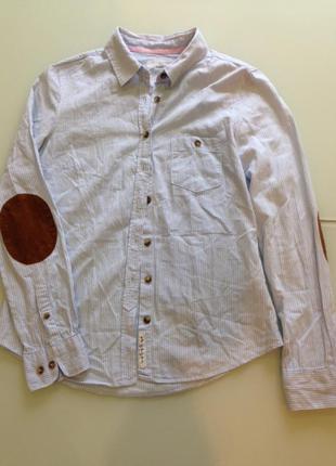 Рубашка h&m оригинал италия хлопок новая коллекция будьте стильными!