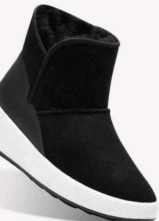 Ботинки сапоги угги унты сапожки  ecco ukiuk 221013(51707)оригинал