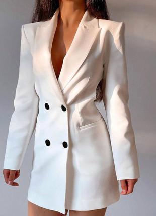 Крутое платье пиджак