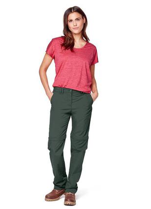 Функциональные трекинговые брюки штаны 2 в 1 германия tchibo dryactive plus