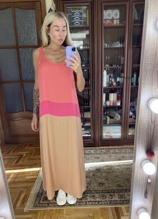 Сатиновое платье, сарафан в пол бохо, хиппи