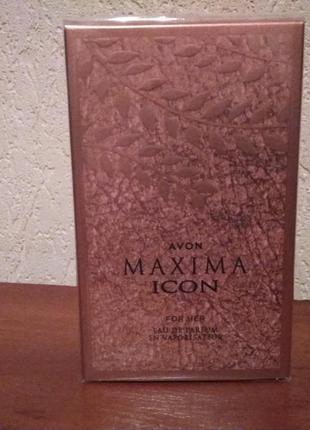 Парфюмерная вода avon maxima icon для нее, 50 мл