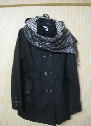 Шикарный женский тренч плащ куртка j.stars +шарф, р.50-52