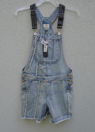 Шикарный джинсовый комбинезон-ромпер river island