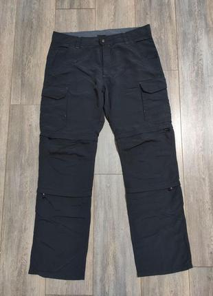 Мужские трекинговые штаны бриджи шорты 3 в 1  k-tec размер xl оригинал