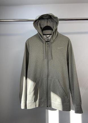 Nike dri-fit чоловіче оригінал не спортивне зіп худі