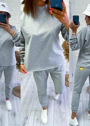 Спортивный костюм двойка кофта штаны брюки