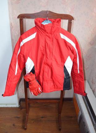 Горнолыжная куртка+перчатки glissade