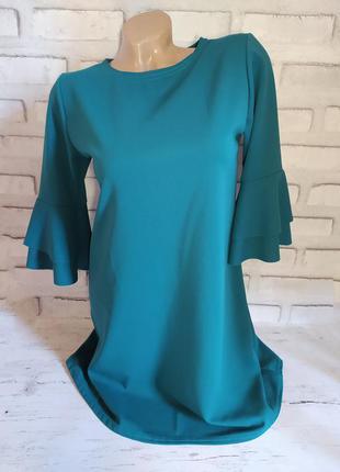 Платье мини, красивое нарядное короткое платье