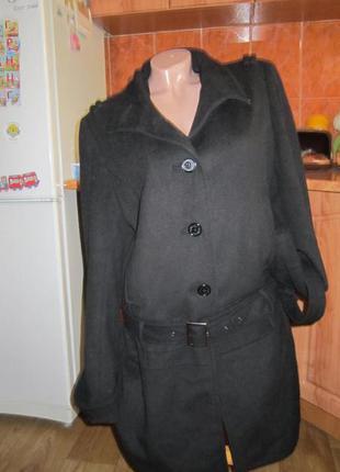 Пальто фирменное kangol с заниженной талией, размер 48