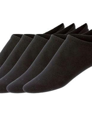 Носки мужские короткие черные livergy р.39-42