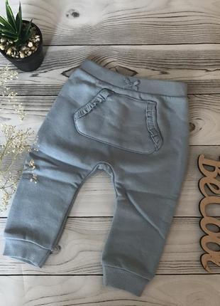 Тёплые штаны george на девочку 6-9 месяцев