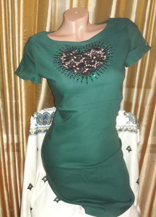 Классное платье стрейч s