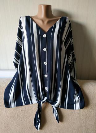 Блузка с красивой спинкой, идеальное состояние, р 22