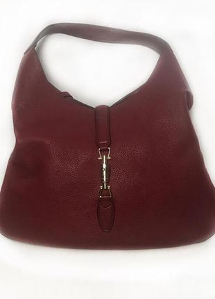 Оригінал сумка gucci jackie soft leather hobo
