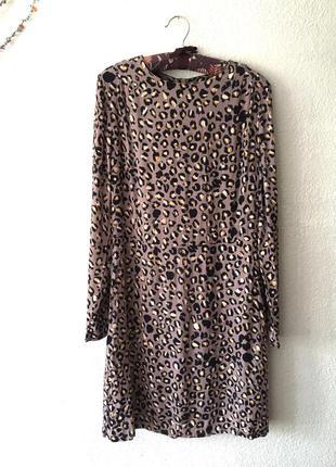 Сукня в леопардовий принт