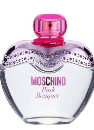 Moschino pink bouquet духи туалетная вода