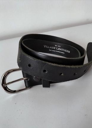 Ремень кожа village leathers