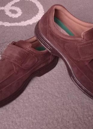 Туфли ортопедические замшевые р 45