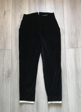 Велюровые брюки штаны alexander mcqueen