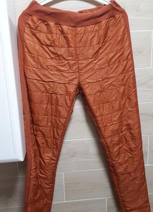 Теплые  штаны , осень - зима размер m-l