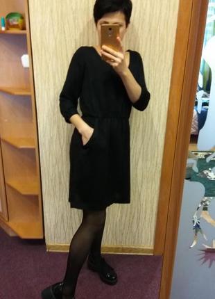 Платье  миди zara с карманами
