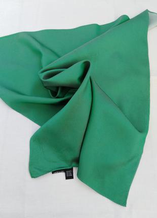Платок из натурального саржевого шелка andrea cipo.