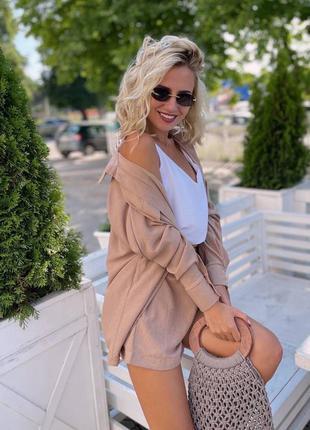 Костюм офисный деловой женский пиджак брюки штаны кофта