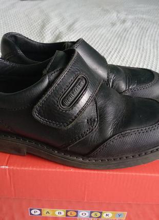 Туфли кожаные pablosky 31