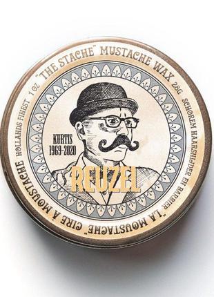 Воск для усов reuzel the stache 28 г