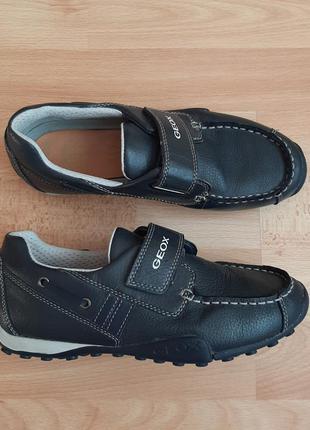 Кожанные туфли geox, р. 36, кеды, кроссовки