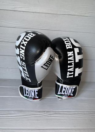 Боксёрские перчатки leone 1947