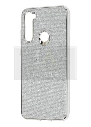 Чехол для xiaomi redmi note 8t elite серебристый