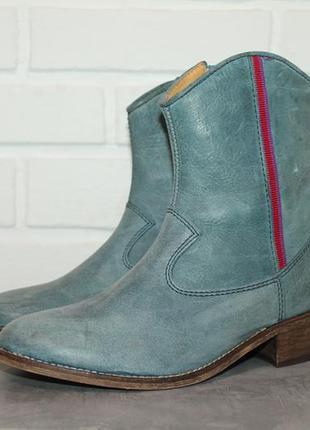 Шикарные кожаные ботинки/полусапожки koel