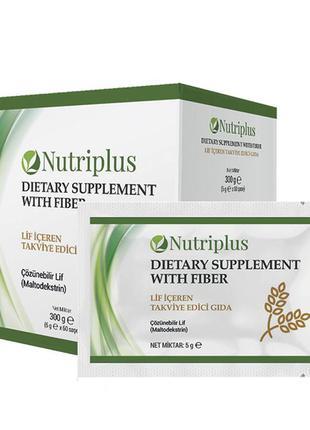 Дієтична добавка з харчовими волокнами nutriplus (free)