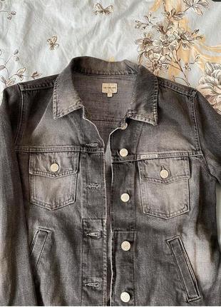 Джинсовая куртка/ джинсовка / пиджак джинсовый